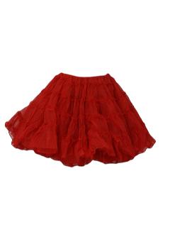 1970's Womens Lingerie - Crinoline Slip Skirt