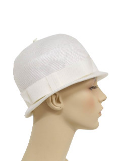 1960's Womens Accessories - Mod Hat