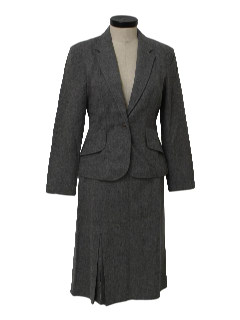 1970's Womens Skirt Suit