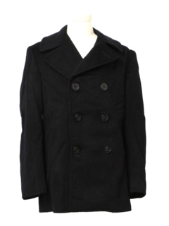 1970's Mens Peacoat Jacket