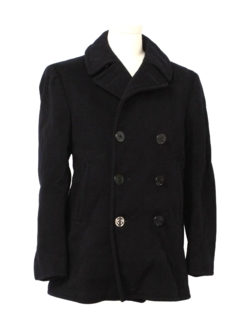 1950's Mens Peacoat Jacket