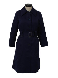 1970's Womens Overcoat Jacket