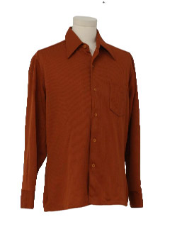 1970's Mens Knit Sport Shirt