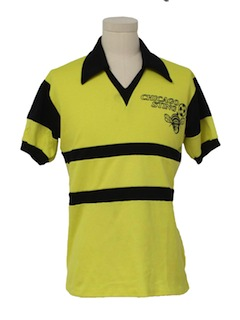 1970's Mens Knit Team Shirt
