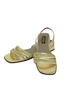 1980's Womens Accessories - Sandal Shoes