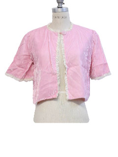 1960's Womens Lingerie - Bed Jacket
