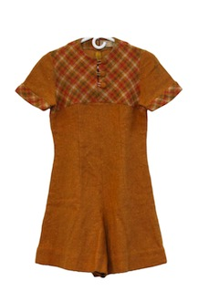 1960's Womens/Girls Romper Jumpsuit