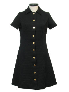 1960's Womens Knit Dress