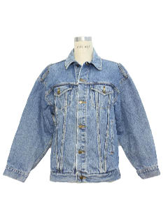 1990's Womens Denim Jean Jacket