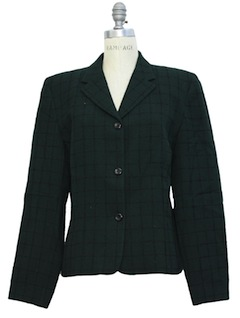 1990's Womens Wool Pendleton Blazer Jacket