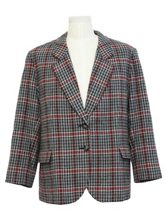 1980's Mens Wool Pendleton Blazer Jacket