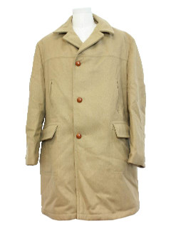 1960's Mens Overcoat Jacket