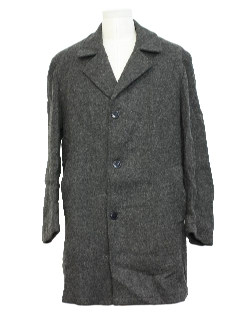 1950's Mens Car Coat Jacket