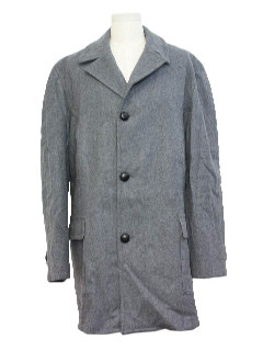 1960's Mens Pendleton Car Coat Jacket
