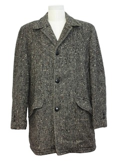 1950's Mens Mod Car Coat Jacket