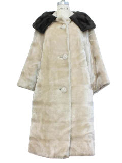 1950's Womens Duster Coat Jacket