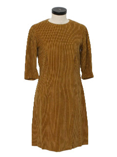 1970's Womens Corduroy Dress