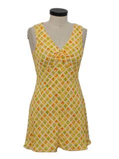 1970's Womens Sun Dress