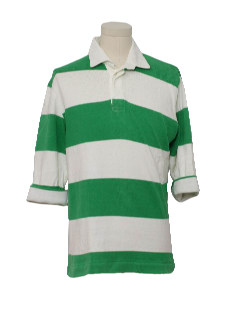 1980's Mens Totally 80s Rugby Shirt