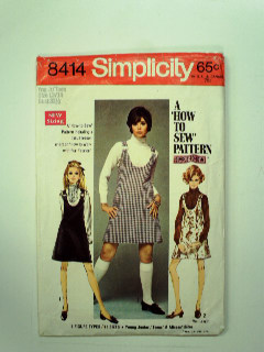 1960's Womens or Girls Pattern