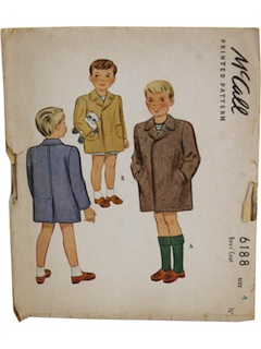 1940's Mens Childs Pattern