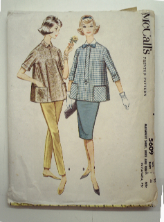 1960's Womens Maternity Pattern