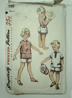 1950's Unisex Childs Pattern