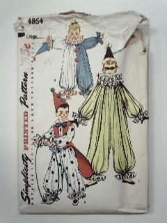 1950's Unisex Child Pattern