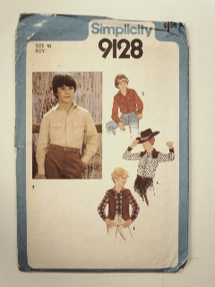 1980's Mens Childs Pattern
