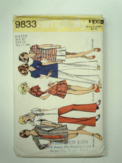 1970's Womens or Girls Pattern