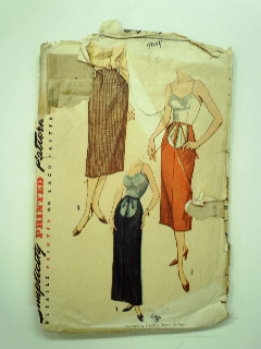 1950's Womens Maternity Pattern