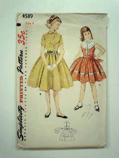 1950's Womens or Childs Pattern
