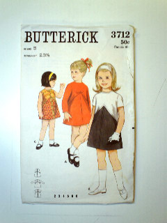 1960's Womens Childs Pattern