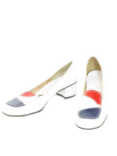 1970's Womens Accessories - Vinyl Shoe
