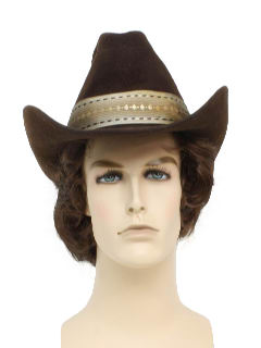 1980's Mens Accessories - Western Hat
