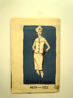 1960's Womens Suit Pattern
