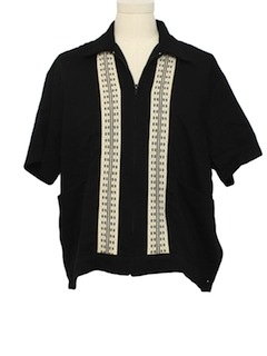 1980's Mens Retro Style Shirt-Jac