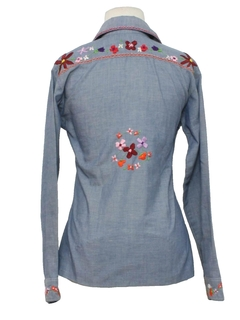 1970's Womens/Girls Hippie Shirt