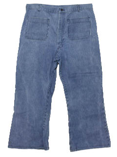 1970's Mens Bellbotom Jeans Pants