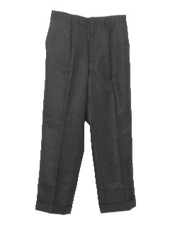 1950's Mens Wool Slacks Pants