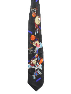 1990's Mens Wicked 90s Cartoon Tie