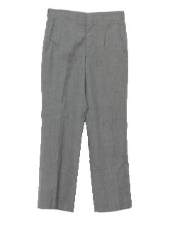 1960's Mens Mod Stove Pipe Slacks Pants