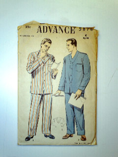 1940's Mens Pattern