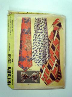 1970's Mens Tie Pattern
