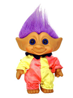 1980's Home Decor - Troll Doll