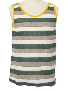 1970's Mens Muscle Tank Top Shirt