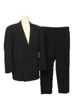 1980's Mens Totally 80s Tuxedo Suit
