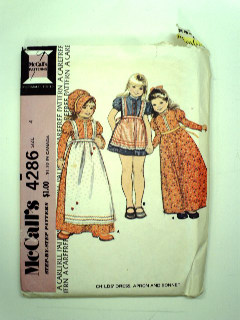 1970's Womens/Girls Pattern
