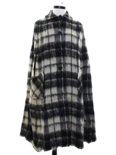 1960's Womens Wool Cape Poncho Jacket