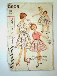 1950's Womens/Childs Pattern